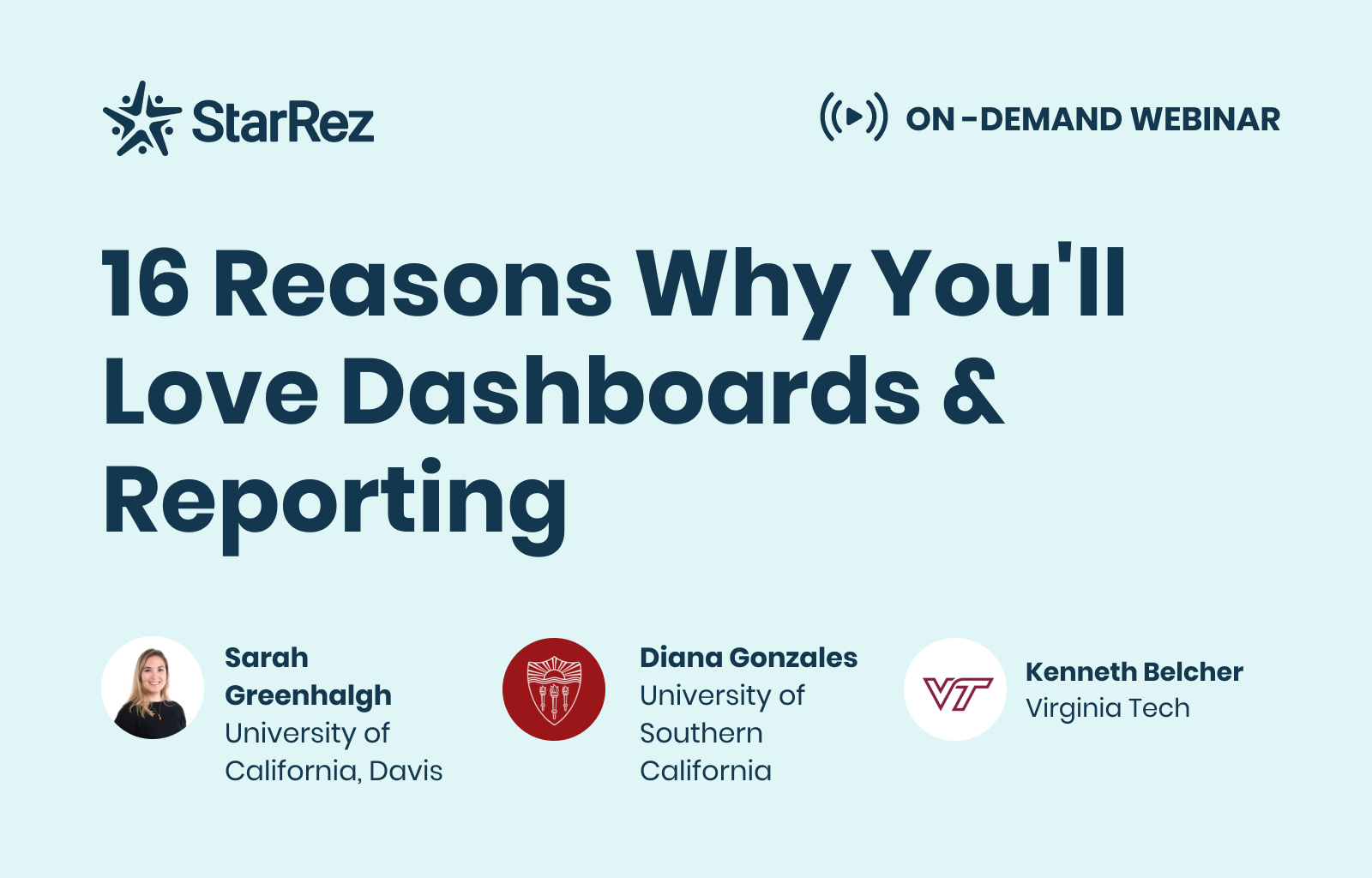 16 Reasons Why You'll Love Dashboards & Reporting