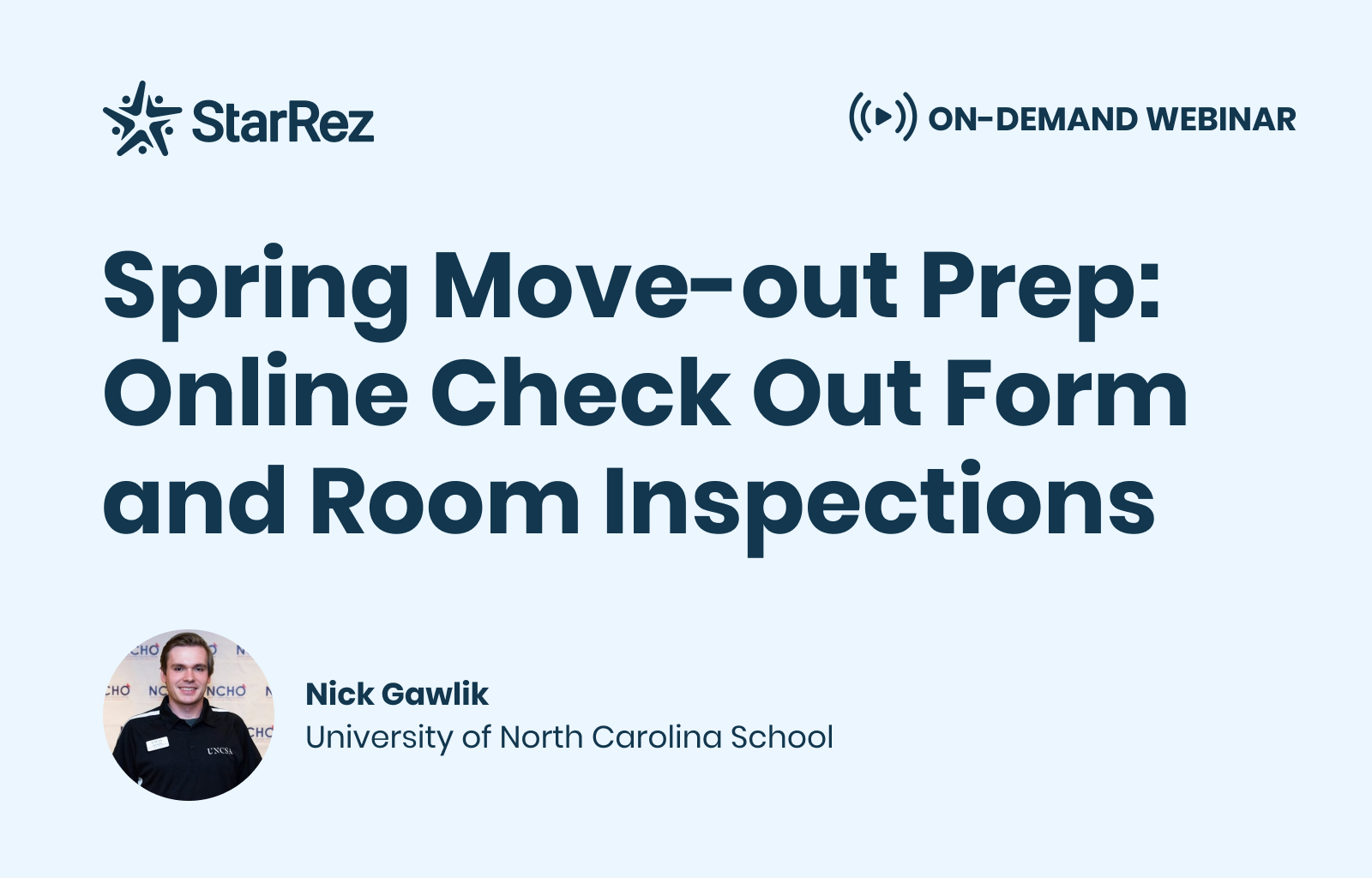 Spring Move-Out Prep: Online Check Out Form and Room Inspections