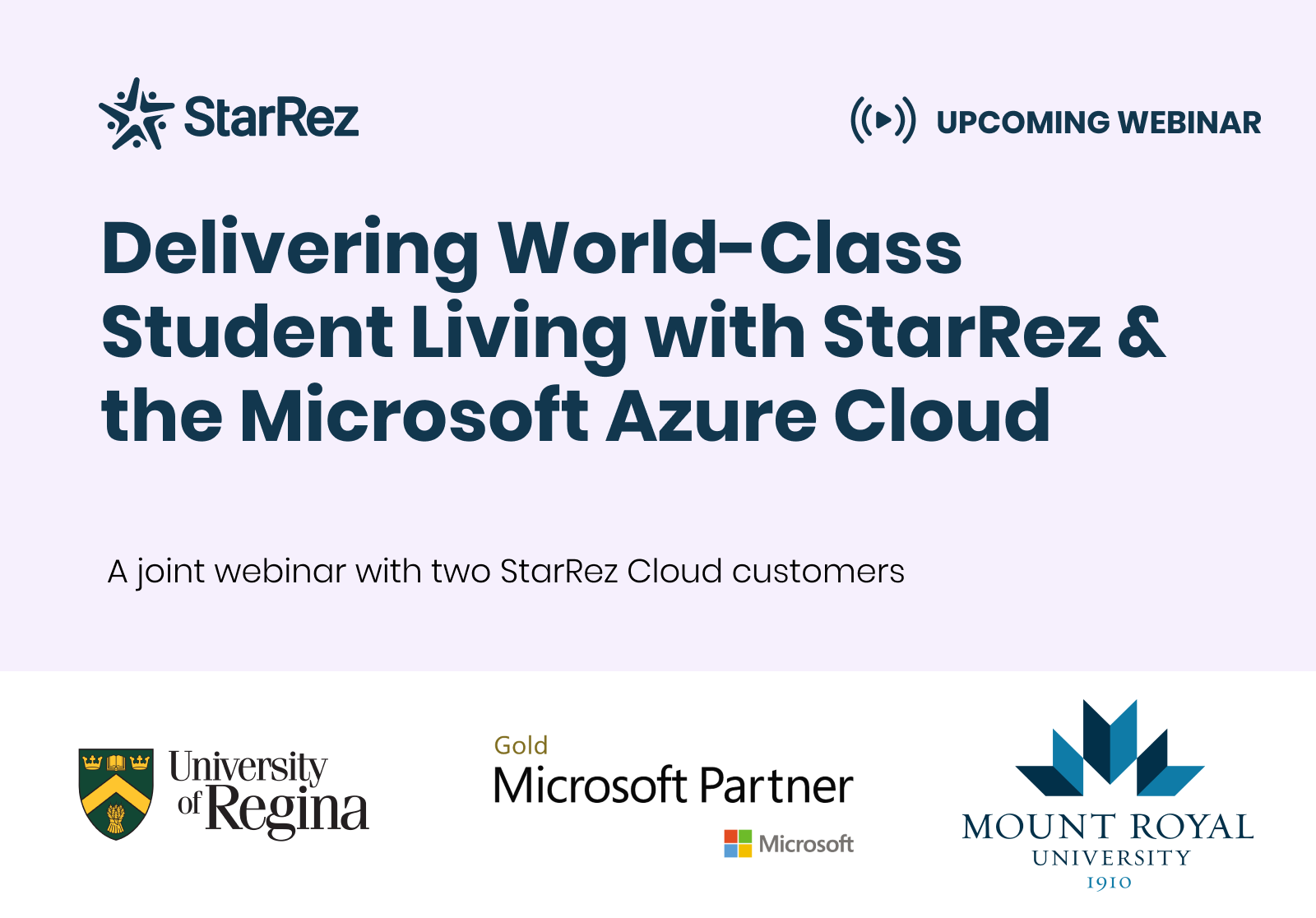 Delivering World-Class Student Living with StarRez and Microsoft Azure Cloud