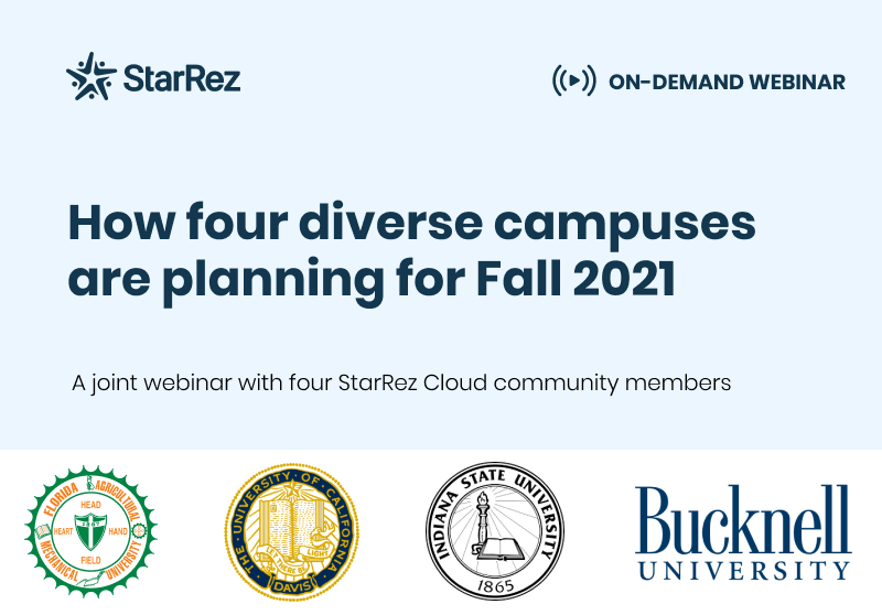 Planning for Fall 2021 Housing