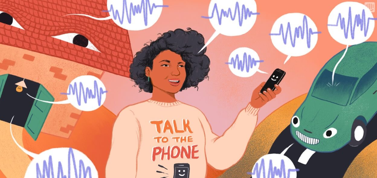 New frontier: tech you can talk with.