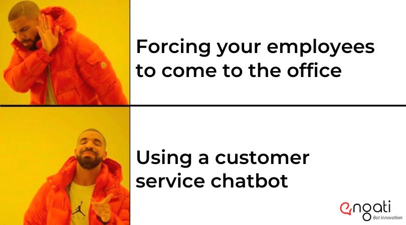 Meme -Customer service chatbot