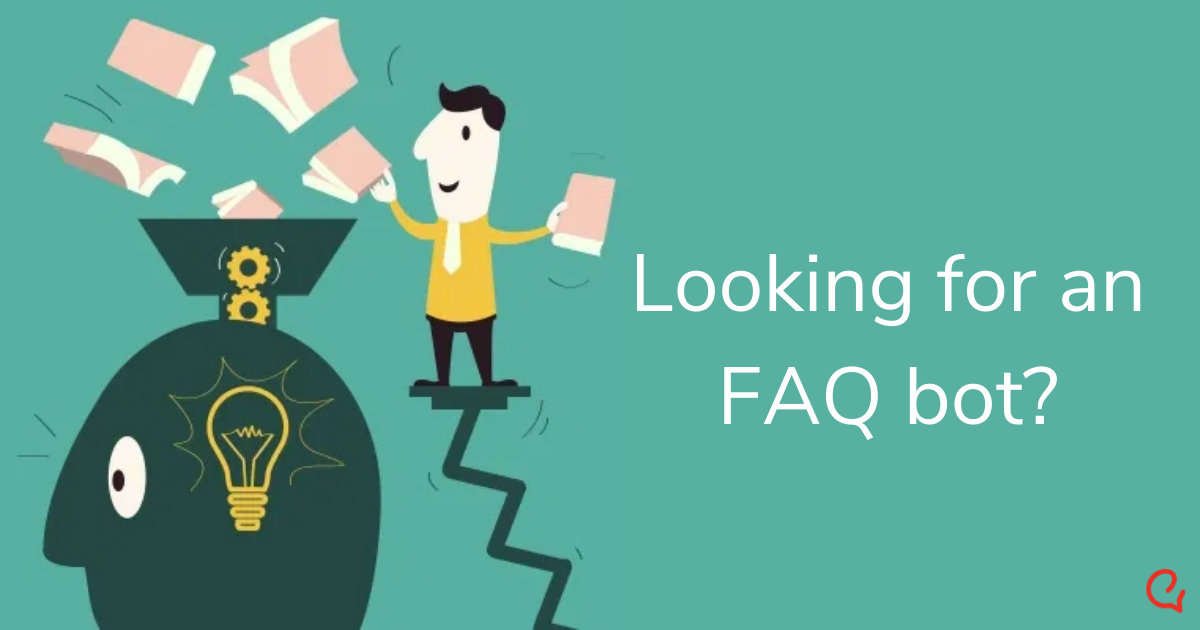 Looking for an FAQ bot? Engati is the answer