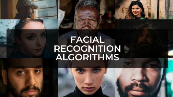 Facial recognition algorithms