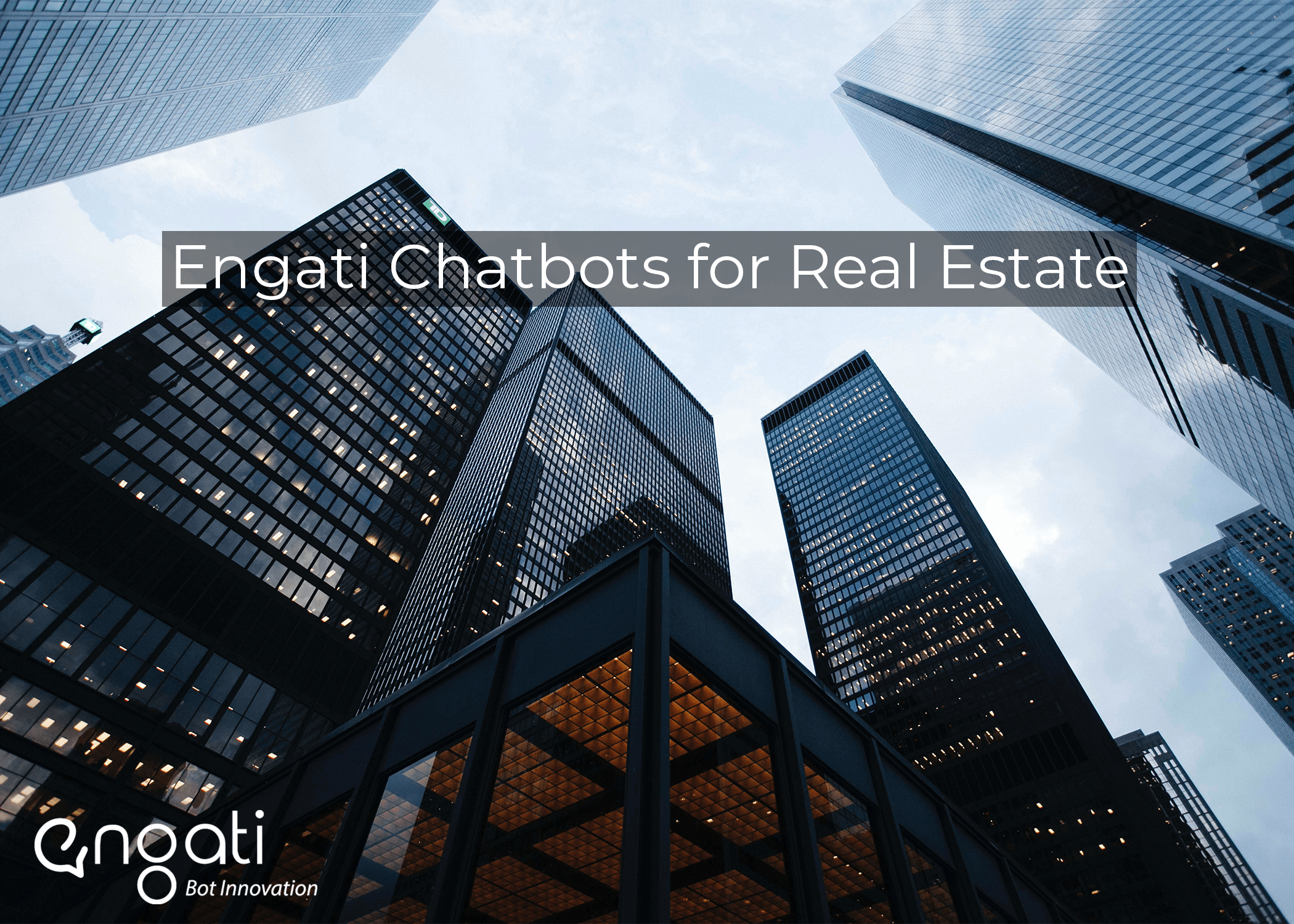 How does the real estate sector benefit from chatbots?