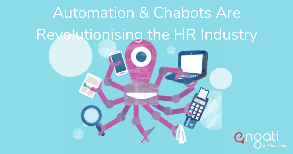 Automation and chatbots are revolutionising the HR industry