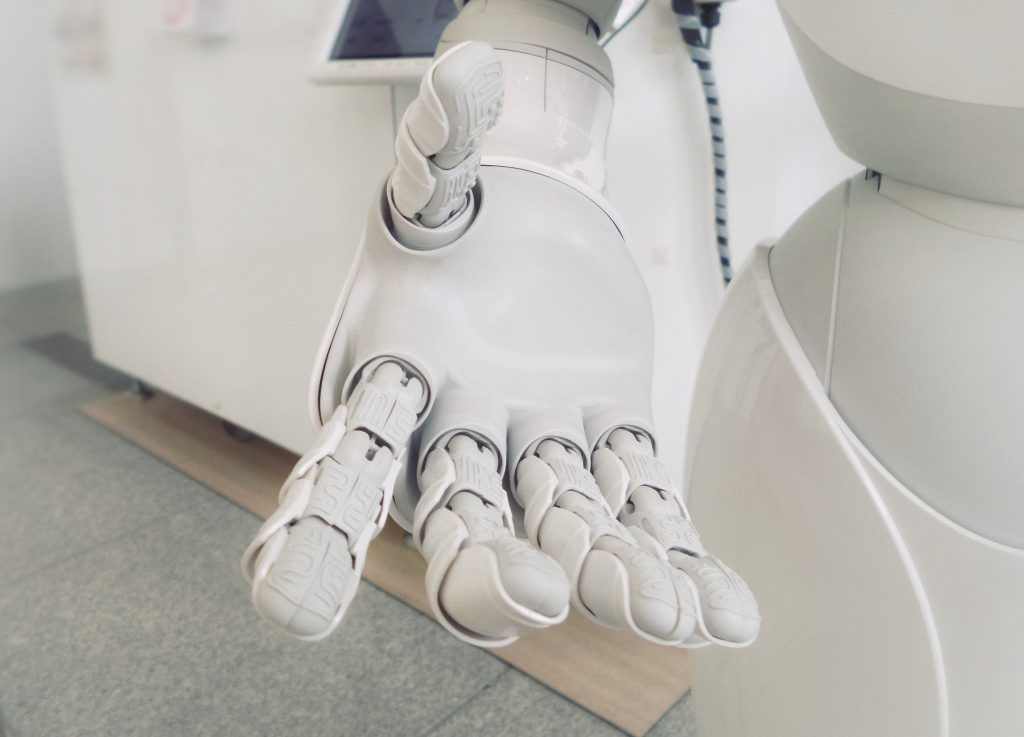 Chatbots use AI features like NLP and Machine Learning