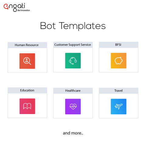 Bot Templates Feature on Engati's Platform