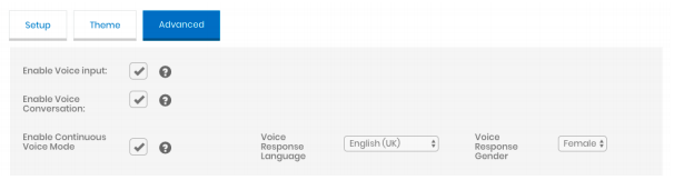 Voice Conversations feature with Engati.