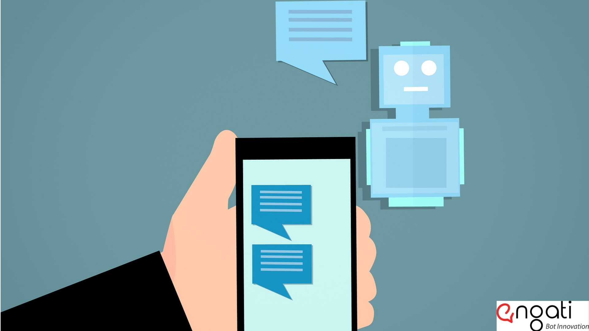 User interacts with the chatbot | Engati
