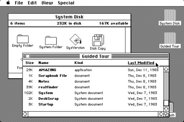 Old Interface