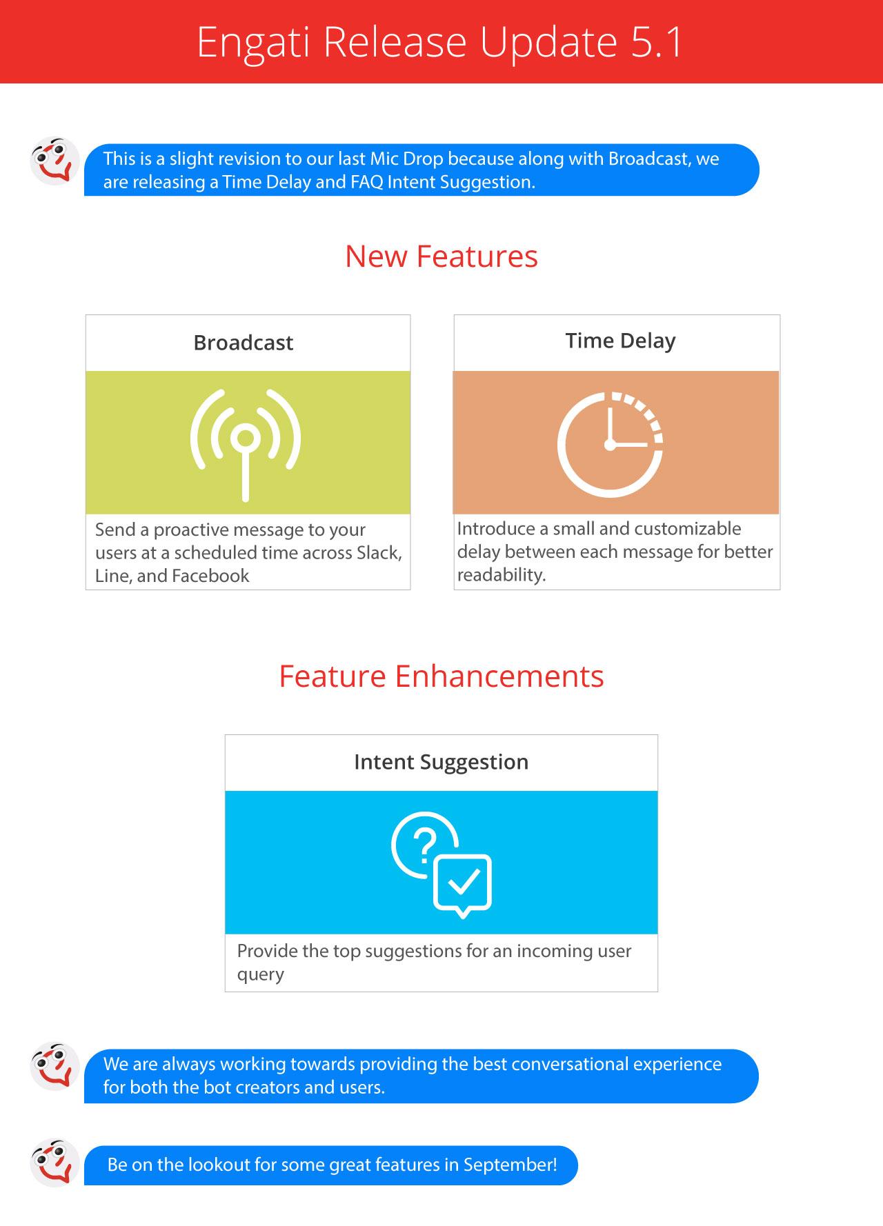 Engati release update 5.1