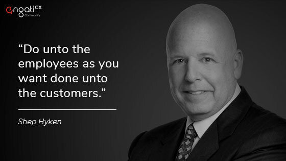 Shep Hyken customer experience quotes