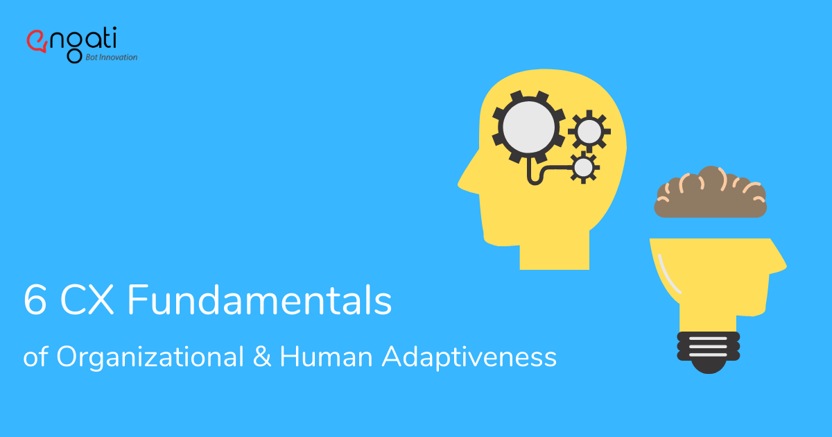 6 CX Fundamentals of Organizational and Human Adaptiveness