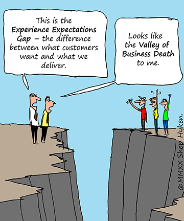 the experience expectations gap with Shep Hyken