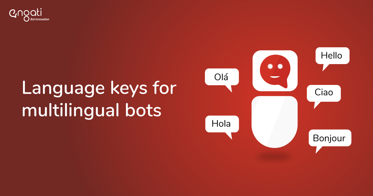 Language keys for multilingual bots