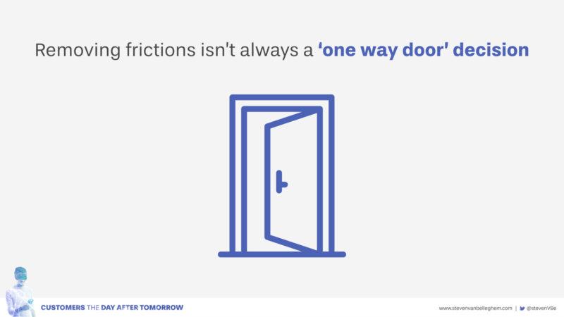 One-way door innovation