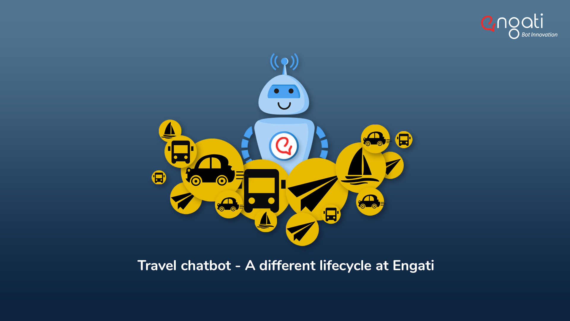 Travel chatbot - A different lifecycle at Engati