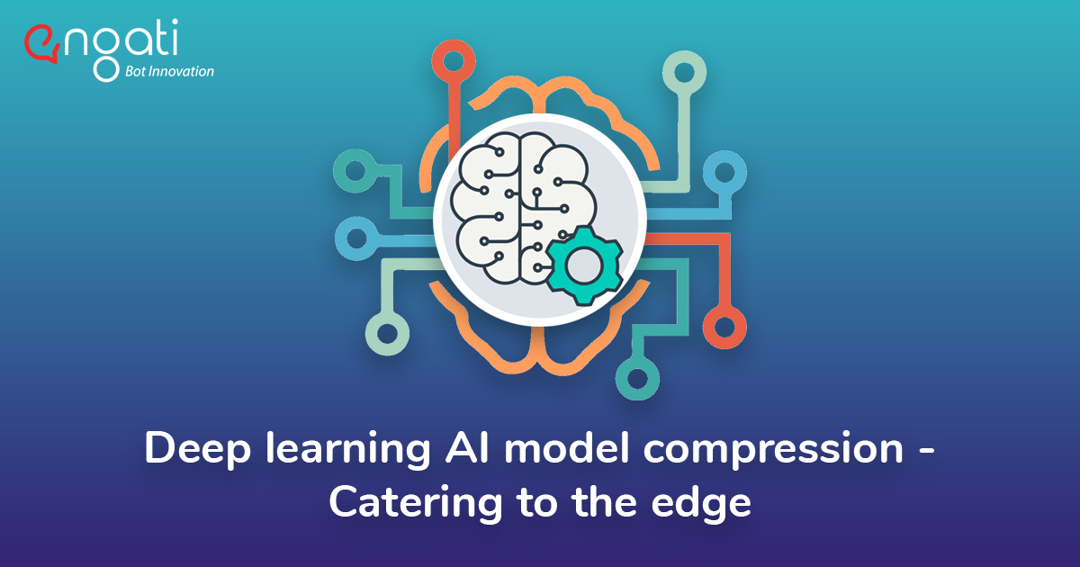 Deep learning AI model compression - Catering to the edge