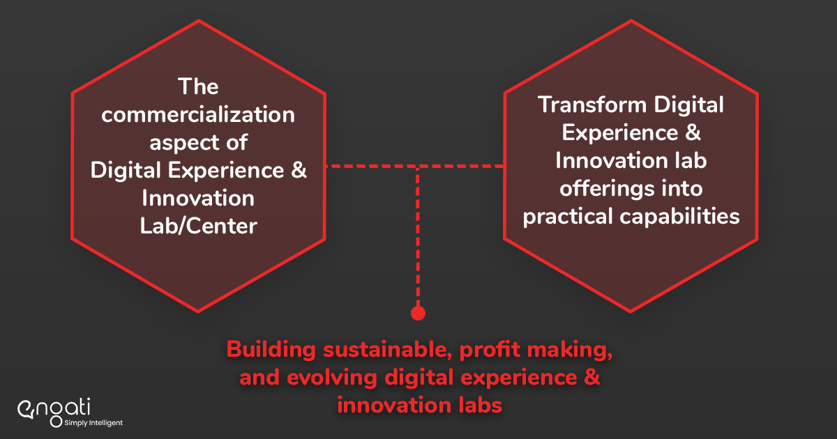 Building sustainable, profit making, and evolving digital experience & innovation labs