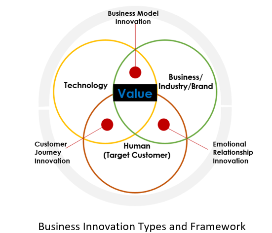 business innovation types and framework