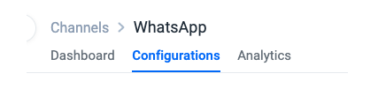 Keleyra WhatsApp Configuration