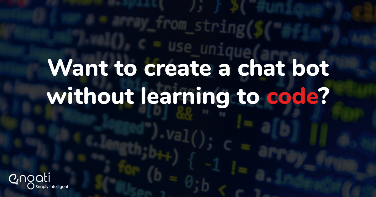 A no-code chatbot solution
