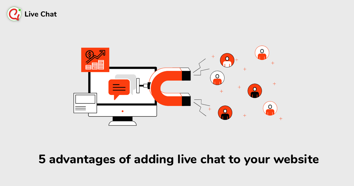 5 advantages of adding live chat to your website