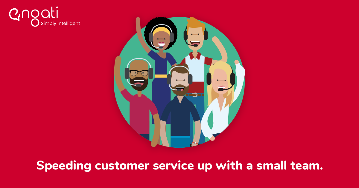 How to speed up customer service with a small team