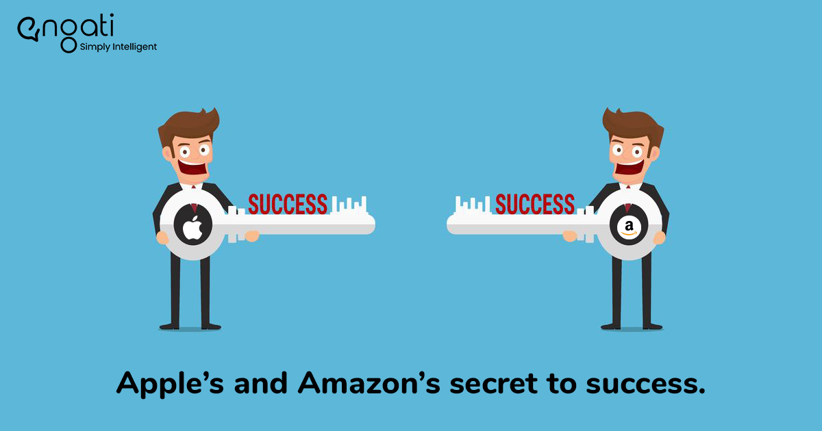 Apple's and Amazon's secret to success