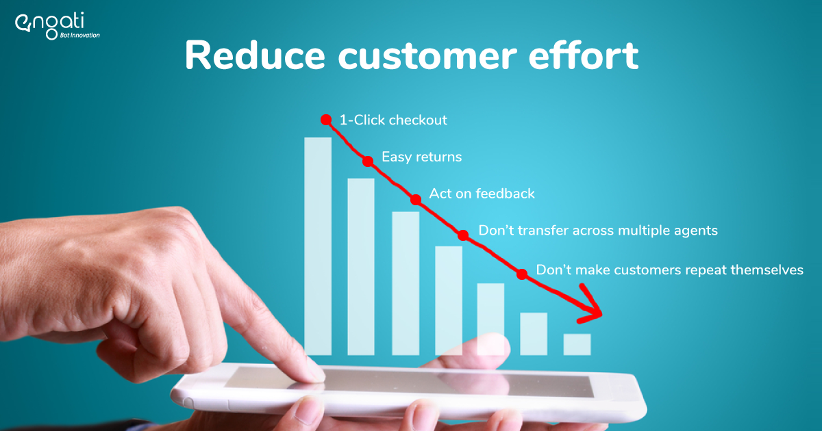 how to reduce customer effort