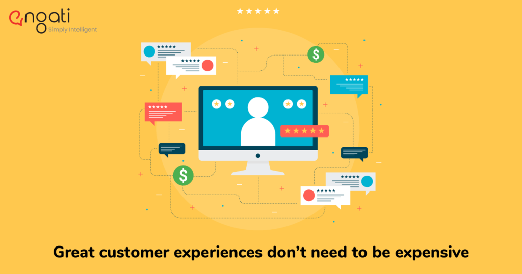 Great customer experiences don't need to be expensive