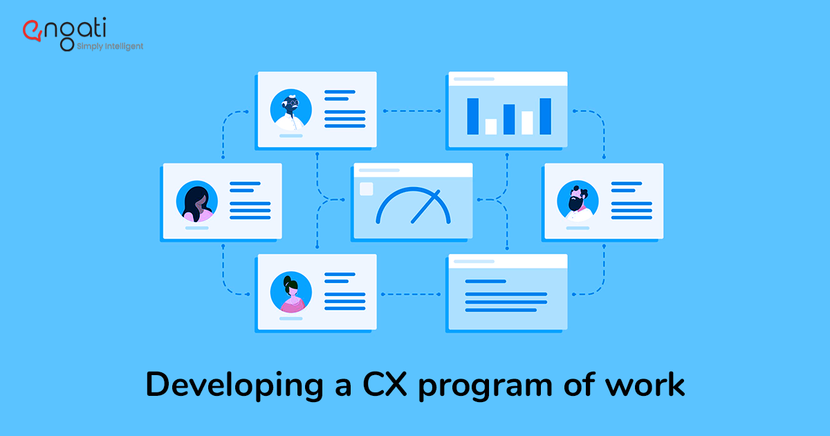 Developing a CX program of work