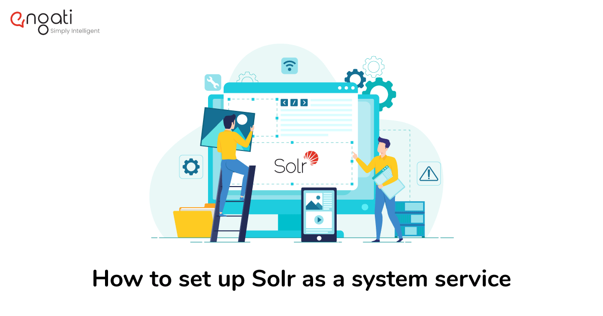 How to set up Solr as a system service