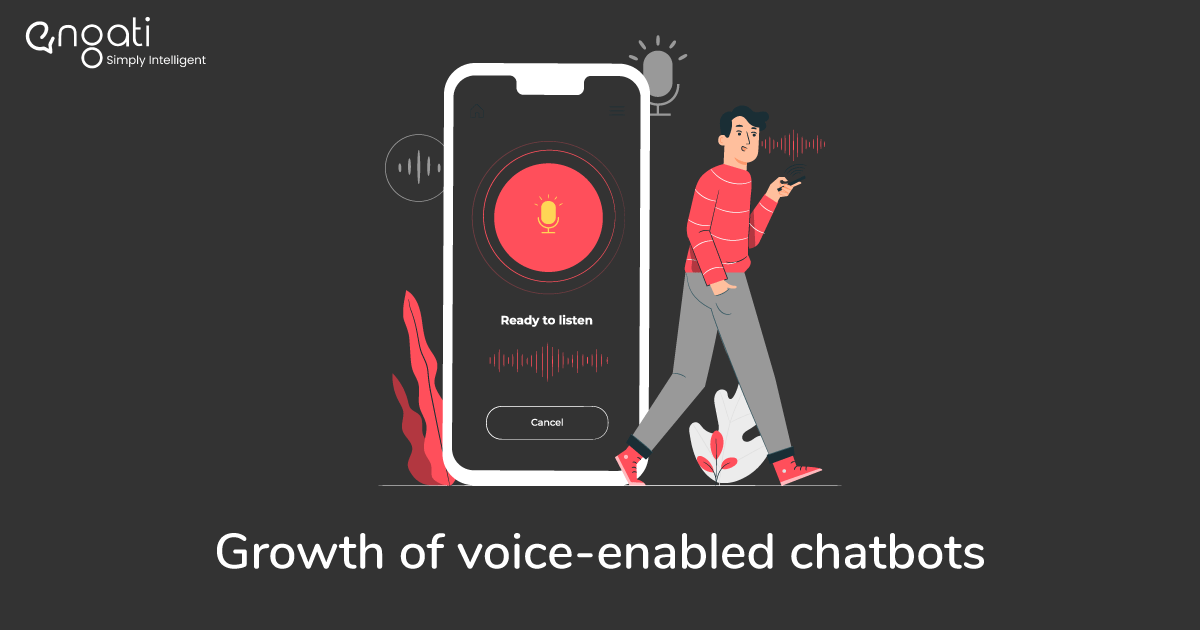 Growth of voice-enabled chatbots