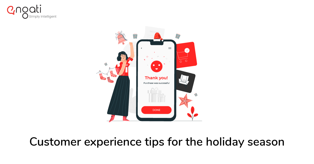 Customer experience tips for the holiday season