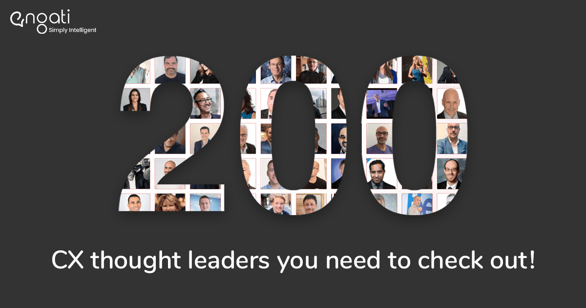 200 CX Thought Leaders to follow to kickstart 2021