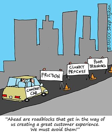 roadblocks to great customer service