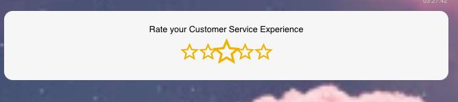 Star-based rating system