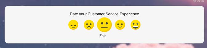 Emoji-based rating system