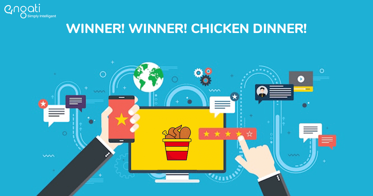 Winner! Winner! Chicken dinner!