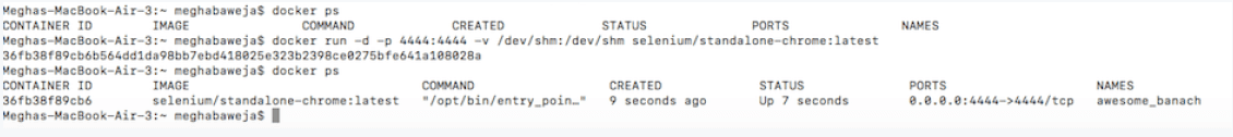 Deploy image on container