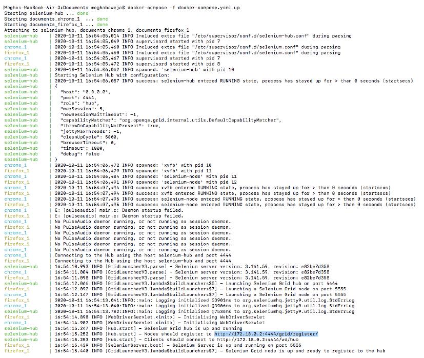 validate nodes