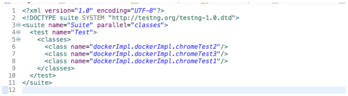 Docker Chrome Testing