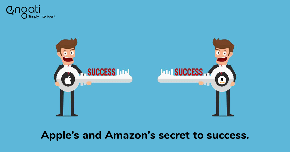 Apple's and Amazon's secret to success