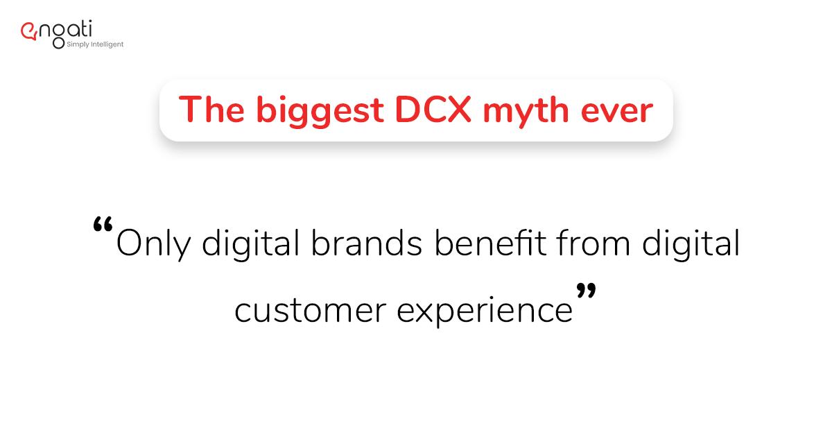 Digital customer experience myths