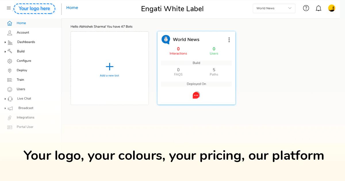 Engati's White Label Platform
