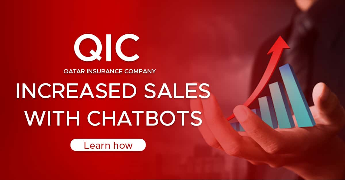 Qatar Insurance Company's success with Engati Chatbot