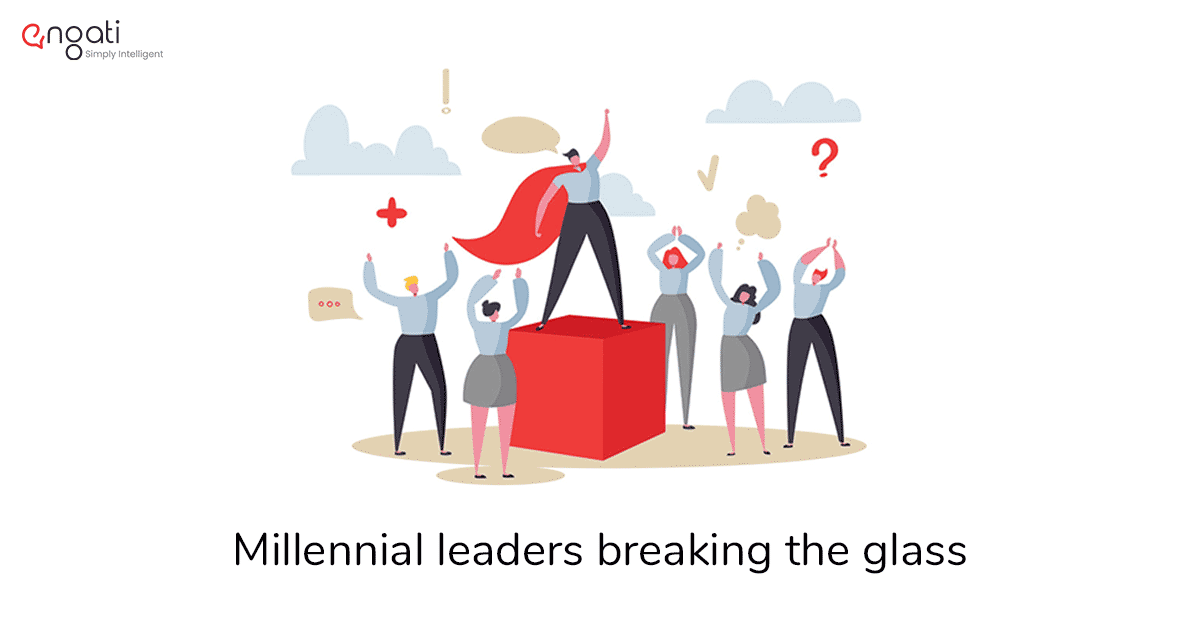 The fire in her | Millennial leaders breaking the glass