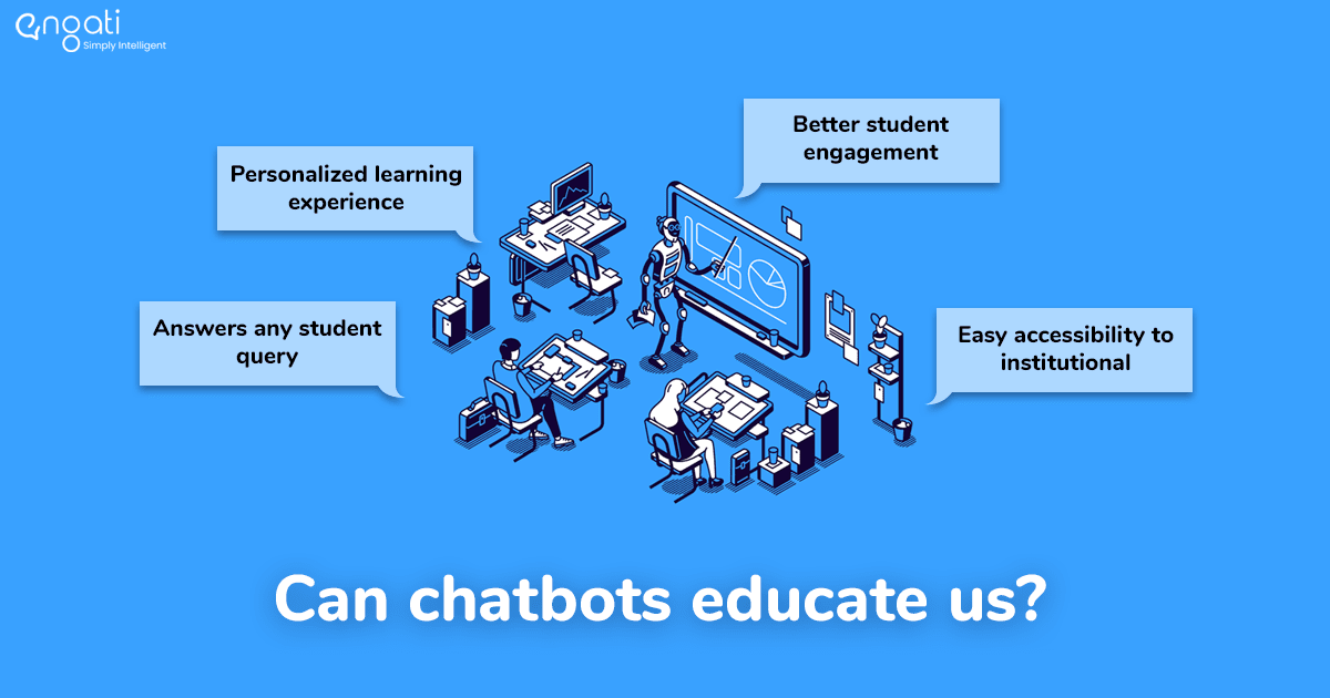 Chatbot applications in education. See how they transform the industry.